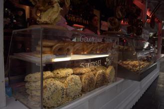 Tis the season. Christmas markets on the Champs Elysees.